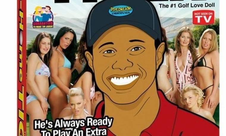 Σεξουαλικά βοηθήματα με το πρόσωπο του Tiger Woods
