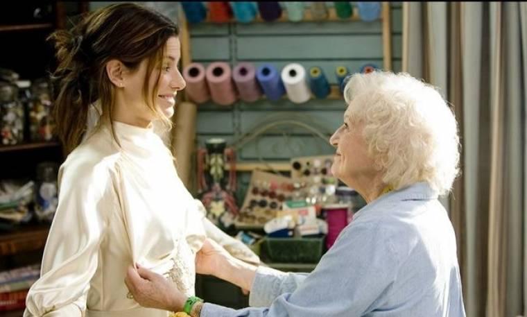 Η Betty White για τη Sandra Bullock