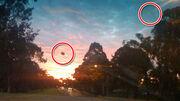 Real UFO στη Μύκονο!