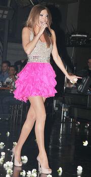H Έφη Χατζή on stage