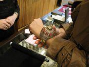 Shopping και καφεδάκι για τη Νάταλι Θάνου στη Θεσσαλονίκη