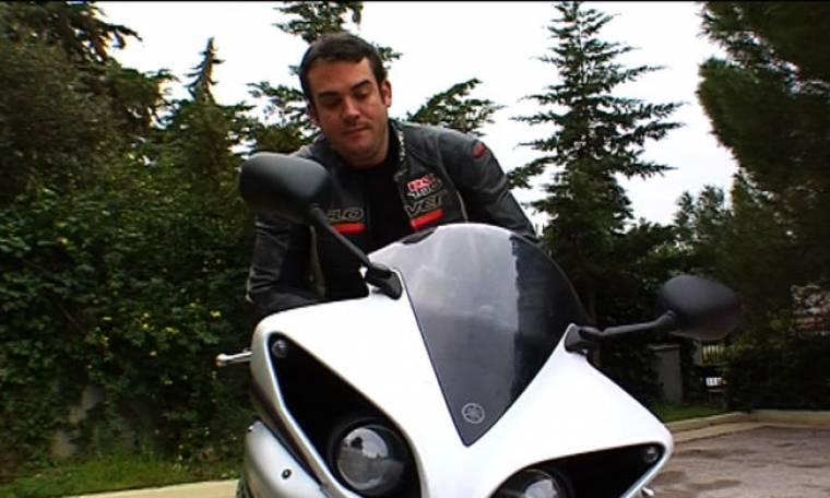 """Ο Δαδακαρίδης οδηγεί μοτοσικλέτα στο """"Traction"""""""