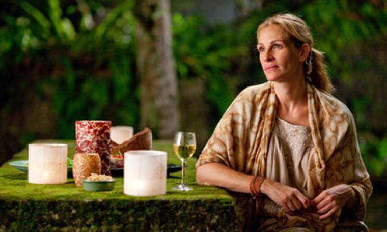"""Η Τζούλια Ρόμπερτς επιστρέφει με την ταινία """"Eat Pray love"""""""