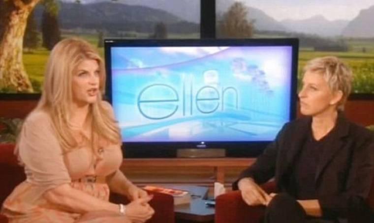 Η Kirstie Alley στην Ellen