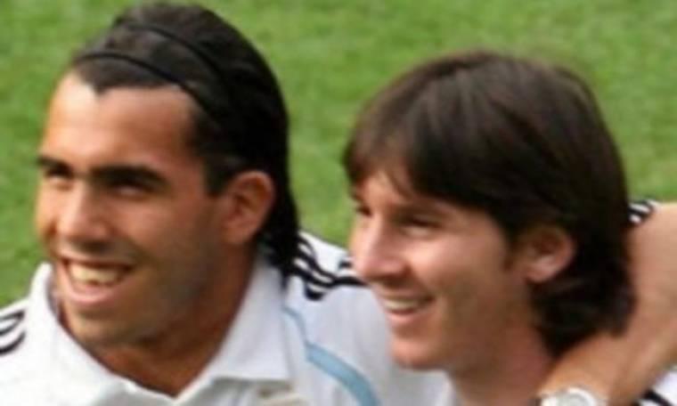 Υποστηρίζει τον Tevez ο Messi