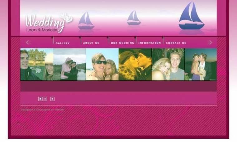 Σερφάροντας στο γαμήλιο site της Χρουσαλά