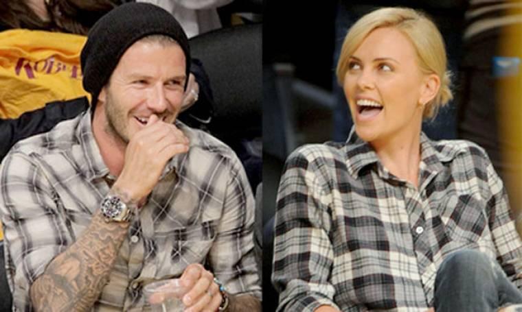Τα… δίδυμα Beckham – Theron