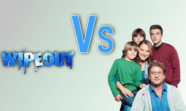 """«Wipe out"""" vs «Παιδική Χαρά»: Ποιος κέρδισε τη μάχη της τηλεθέασης;"""