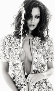 Η Cheryl Cole στο Harper's Bazaar
