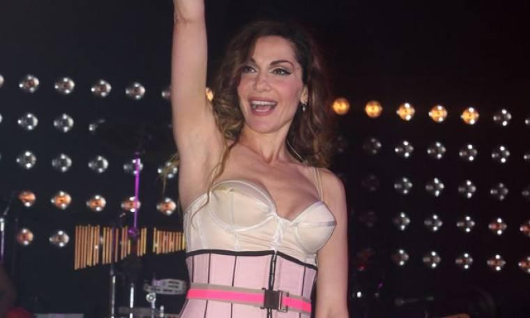 """Η Βανδή στο live του """"Greek Idol"""""""