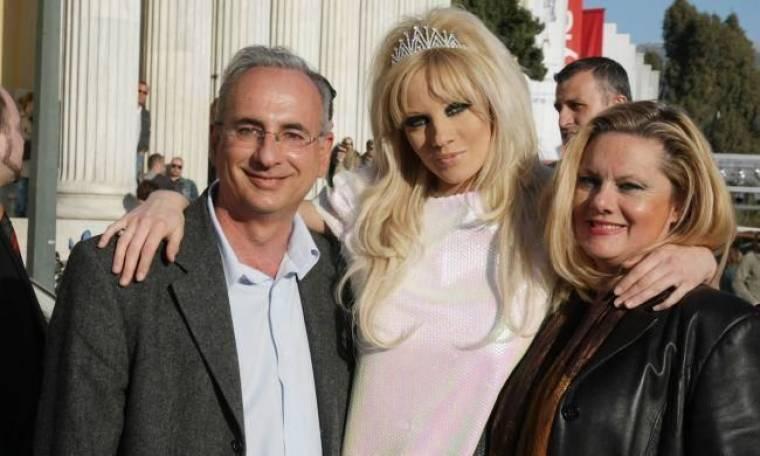 Τζούλια Αλεξανδράτου: Στην πρεμιέρα της οι γονείς της