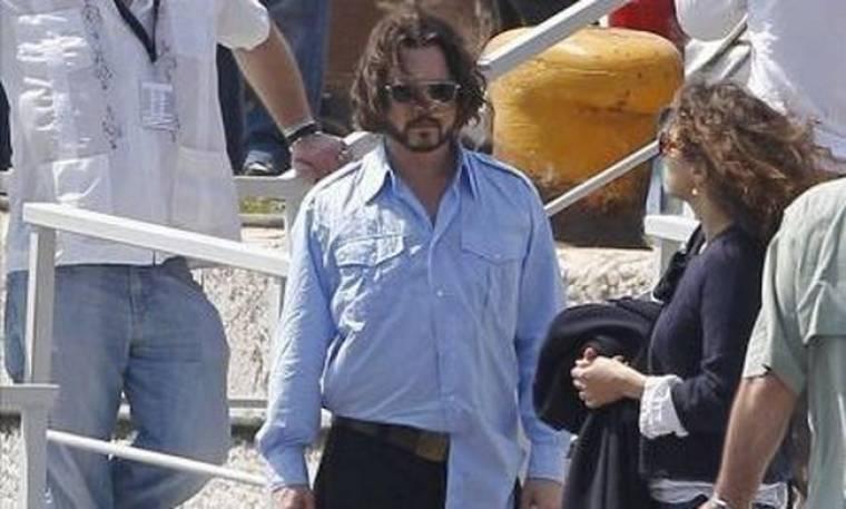 Ήρωας ο Johnny Depp