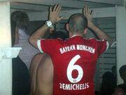 Σε ελληνικό εστιατόριο γιόρτασε τον τίτλο η Bayern