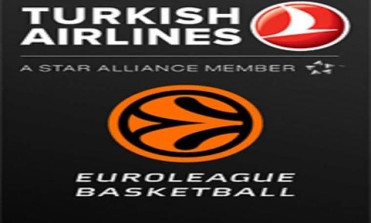 Χορηγός και στο F4 της Euroleague η Turkish Airlines