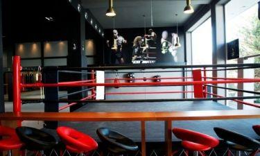 Στα «άδυτα» του γυμναστηρίου kick boxing του Μιχάλη Ζαμπίδη