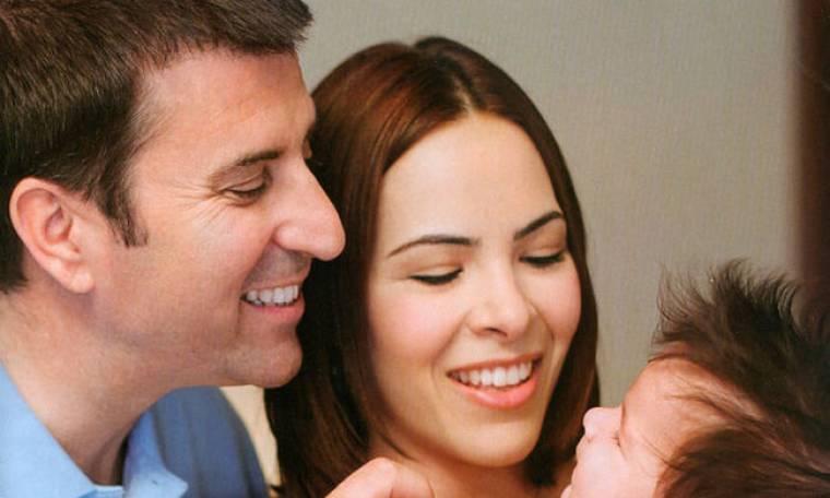 Παναγιώτης Στάθης: Ξετρελαμένος με την κόρη του