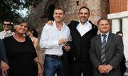 Το… 'απαγορευμένο' της Ελένης Μενεγάκη στον γάμο Γκουντάρα-Κακκαβά