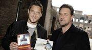 Όταν o Francesco Totti συνάντησε τον Russel Crowe