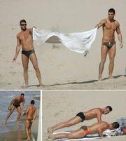 Ιδού ο  σύντροφος του Ricky Martin!