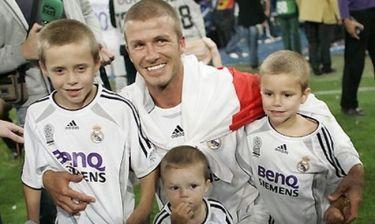 Τα παιδιά των Beckham σε video clip;