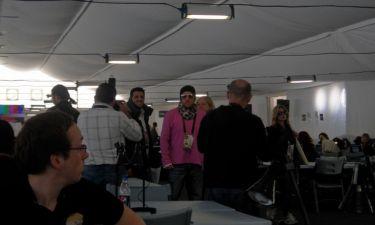 Ο Γιώργος Αλκαίος στο Press Center