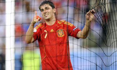 David Villa: «Σταθμός για την Ισπανία το Euro 2008»