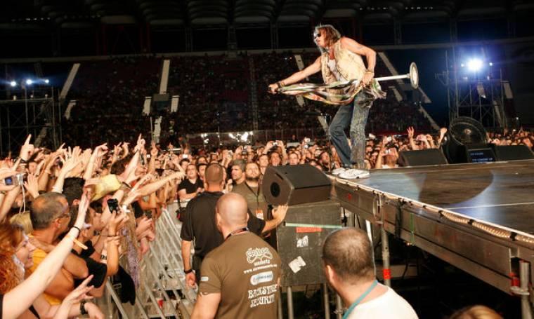Ποιοι επώνυμοι ρόκαραν με τους Aerosmith;