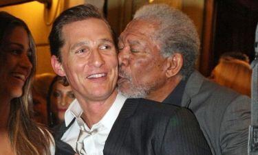 Ο Morgan Freeman αγαπάει τον McConaughey