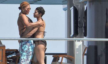 Με την σύντροφό της κάνει διακοπές η Queen Latifah