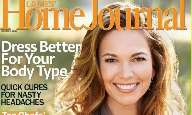 Η Diane Lane στο Home Journal