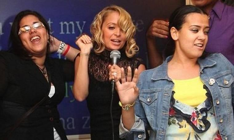 Η Nicole Richie τραγουδά Spice Girls