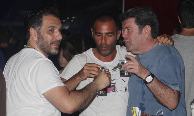 Αρναούτογλου-Λάτσιος-Κανάκης: Διασκέδασαν μαζί!