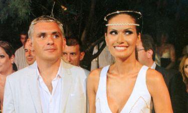 Kάλλι Τσιλίδου-Στέφανος Δάνδολος: Λαμπερός γάμος στην Πάρο