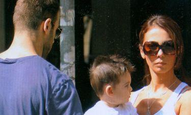 Σπανούλης-Χοψονίδου: Βόλτες με το γιο τους στη Θεσσαλονίκη
