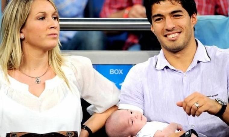 Luis Suarez: Με την κόρη του αγκαλιά στο Bernabeu