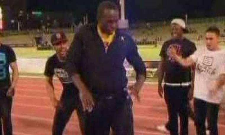 Video: O Usain Bolt χορεύει... break dance