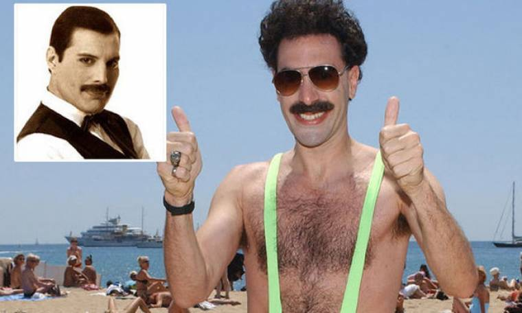 Freddie Mercury ο Sasha Baron Cohen