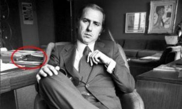 Ποιος πολύ γνωστός πολιτικός... οπλοφορούσε;
