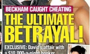 Σκάνδαλο με πόρνη πολυτελείας και τον David Beckham