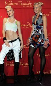 Η Gwen Stefani και το κέρινο ομοίωμά της