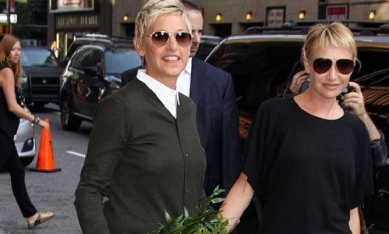 Πήρε το όνομα της Ellen η σύντροφός της