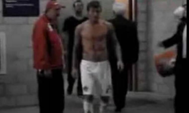 Video: Ο David Beckham κατά... οπαδού