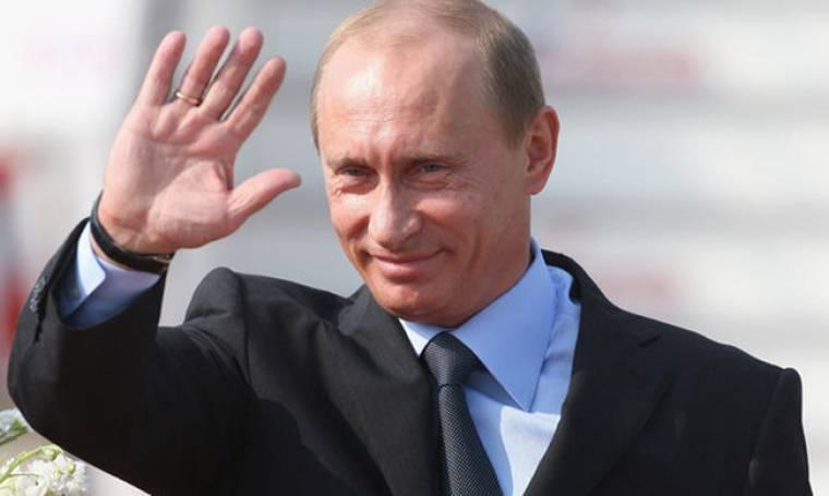 """Ο Βλαντιμίρ Πούτιν στον """"παράδεισο"""" του Βίκτωρ Ρέστη"""
