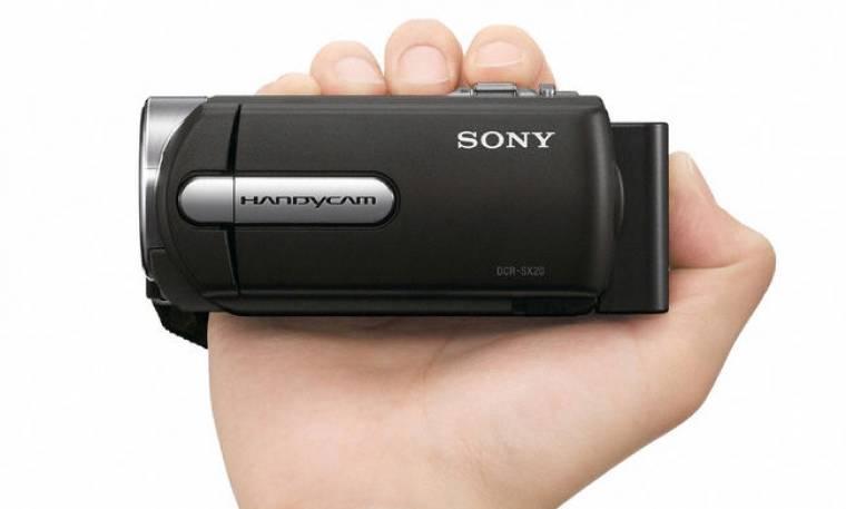 Νέες Handycam SR που γράφουν σε κάρτα και σκληρό!