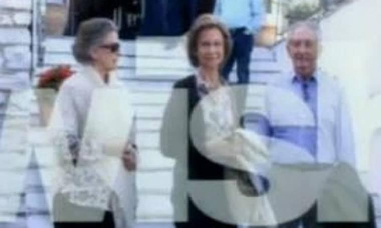 Στην Ελλάδα η Βασίλισσα Σοφία της Ισπανίας
