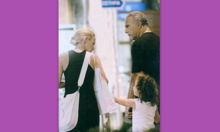 Nίκος Γκάλης: Για ψώνια με την οικογένεια του