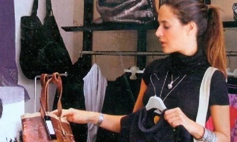 Ιζαμπέλλα Κογιεβίνα: Ψώνια στο κέντρο της Αθήνας
