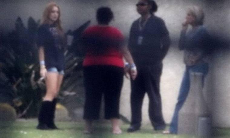 Φωτογραφία της Lohan από την Betty Ford