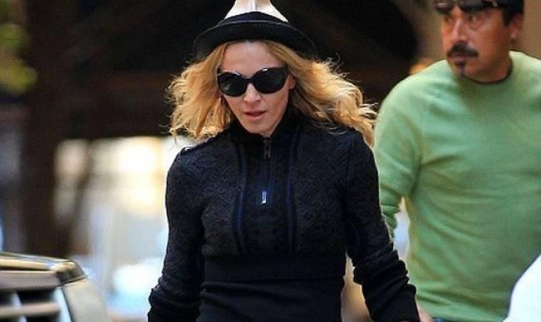 Η κυριακάτικη βόλτα της Madonna