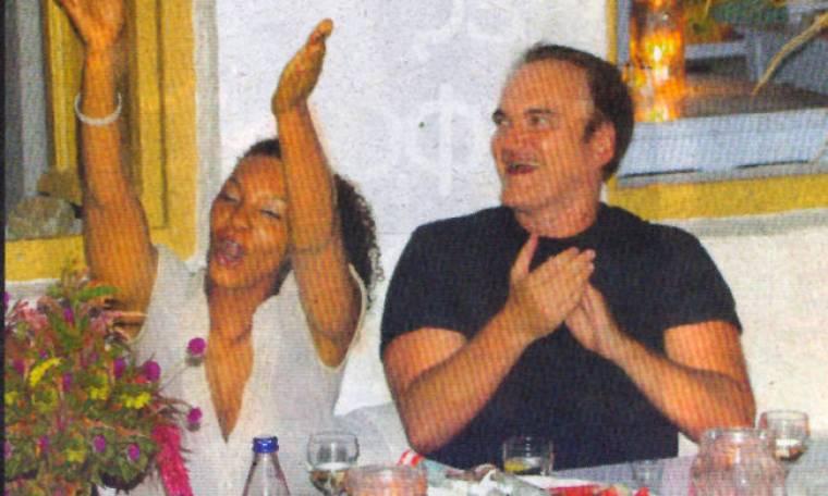 Οι διακοπές του διάσημου σκηνοθέτη Ταραντίνο στην Μύκονο